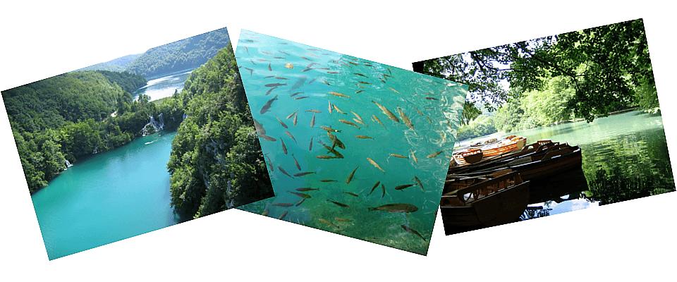 A Plitvicei-tavak természetes szépsége