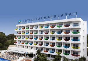 Hotel Palma Playa Los Cactus*** Mallorca Szállás