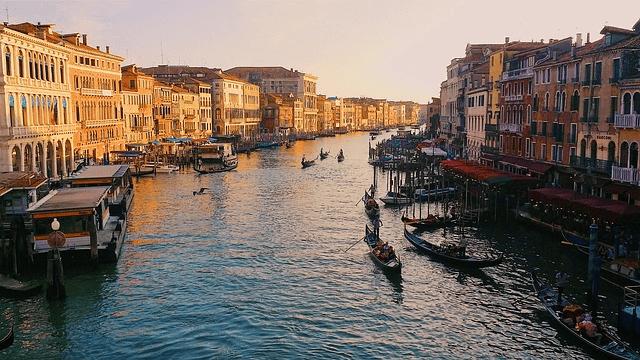 Canal Grande - Velence a gondolák hazája