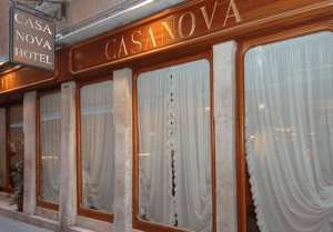 Hotel Casanova*** Velence szállás