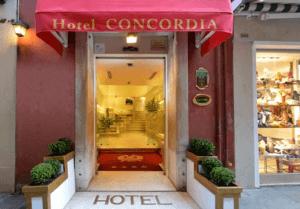 Hotel Concordia**** Velence szállás