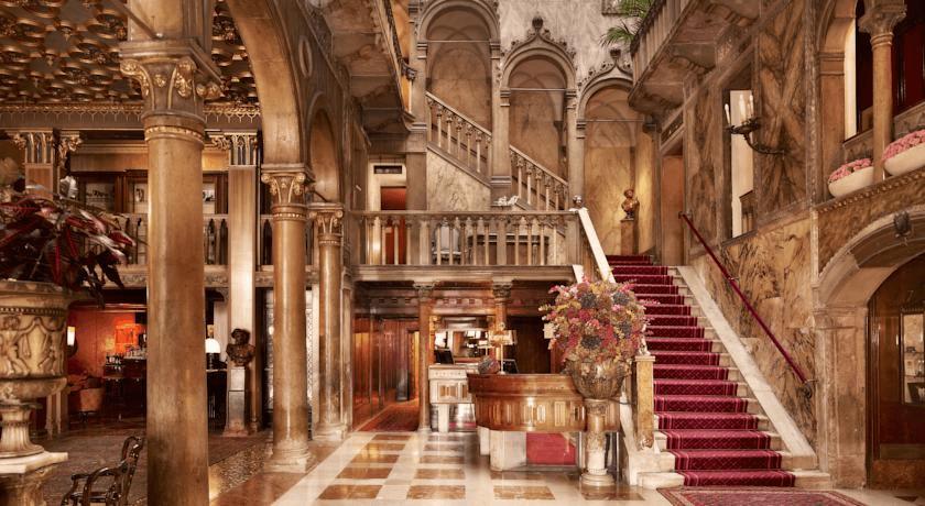 Az 5 csillagos Hotel Danieli káprázatos beltere