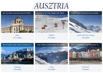 Ausztria szállás