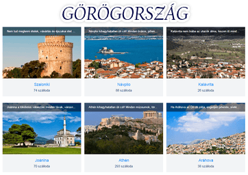 Görögország szállás