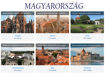 Magyarország szállás