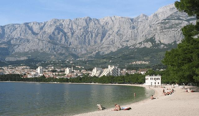 Tengerpart, Szállások Makarska Horvátország